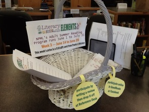 Summer Reading Basket @ NPML