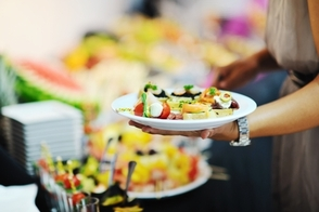 How will you manage the Buffet table?