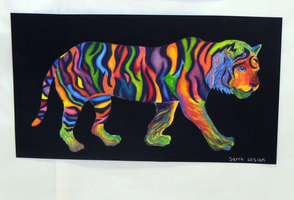 Psychedelic Tiger