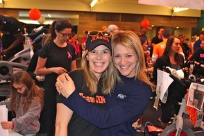 Jeanne Silberman and Greer Gelman, Co-captains for Team JENesis,