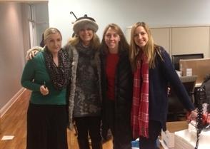 From Left: Kate Keisel of Polaris, Julie Liepold of JLOSH,Sara D'Andrea of JLOSH and Ulana Tatunchak of Polaris.