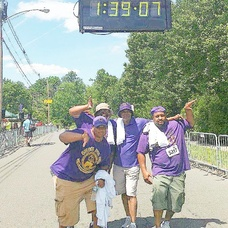 Omega Psi Phi Fraternity Participates in 5K Walk to Help Raise Money for Kidney Disease.  , photo 2