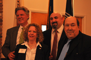 Congressman Frank Pallone (NJ-6), with Susan Williams, Richard Tomko, and Bill Weightman.