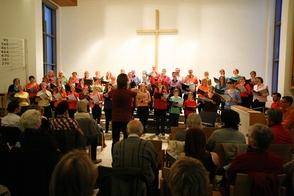 Choir Ephata Performs in Westfield