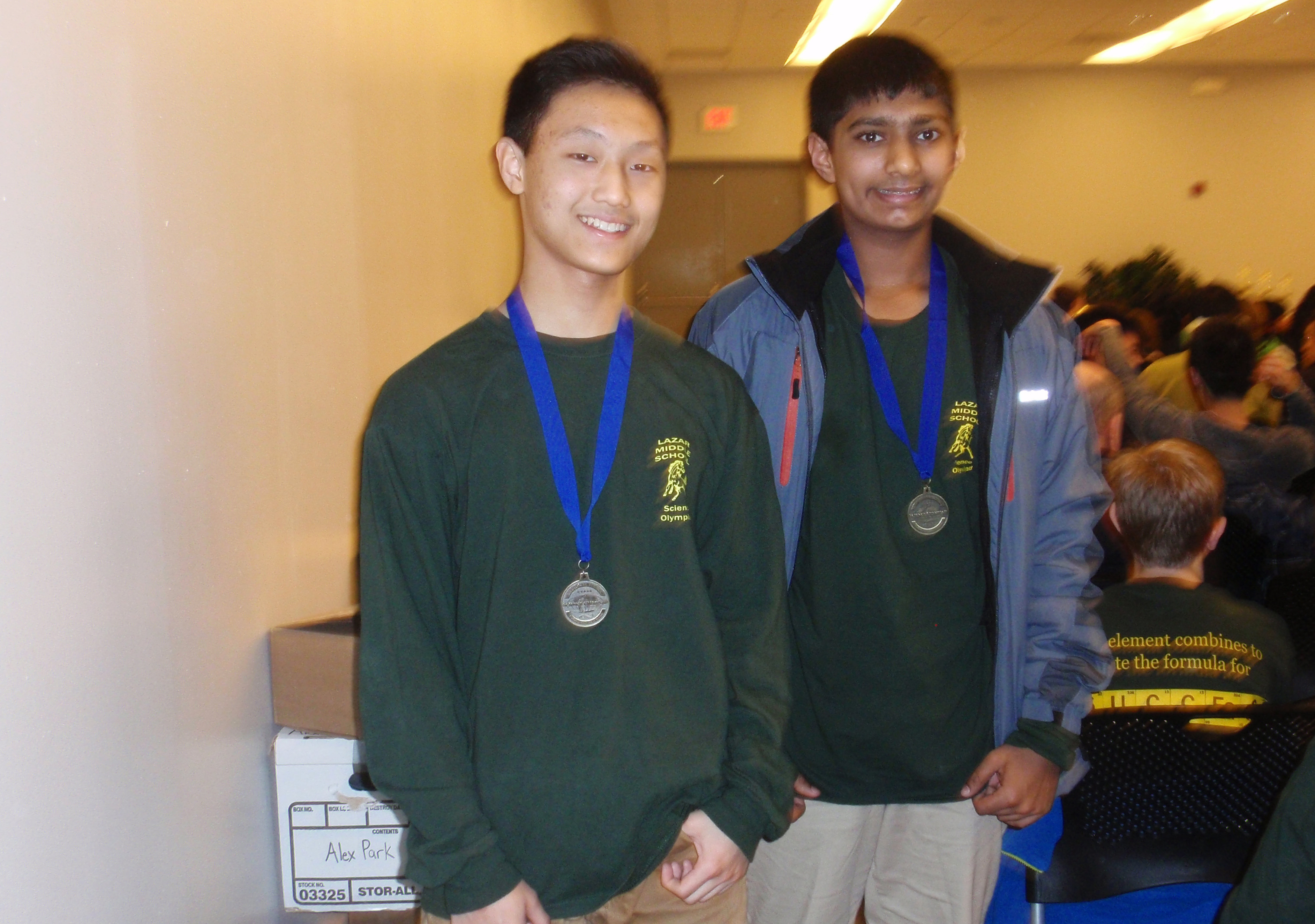 Lazar Invited to State Science Olympiad - Montville NJ News - TAPinto