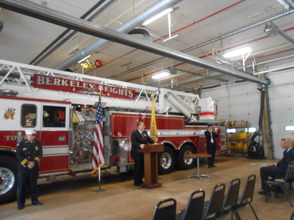Sen. Cory Booker and Rep. Leonard Lance Visit Berkeley Heights To Present $185,360 Federal Grant For Firefighter Assistance, photo 10