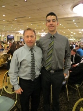Shane Lynes receives NJSIAA Scholar Athlete Award