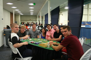Blackjack/Texas Hold-Em FUN at Project Graduation 2014