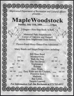 Maplewoodstock Kicks Off 11th Year This Saturday, photo 3