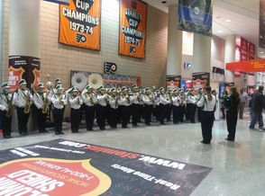 HHS Marching Band Performs in Philadelphia, photo 2