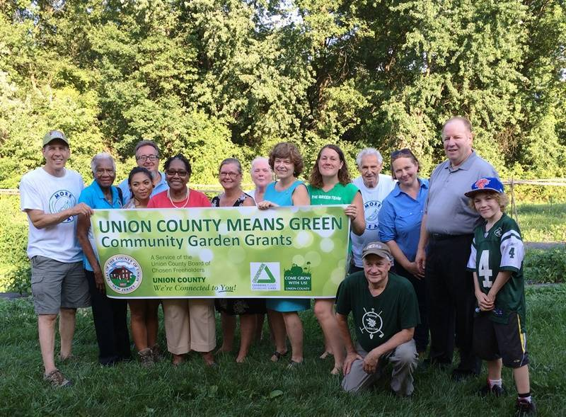 Freeholders Join Community Gardeners To Celebrate New