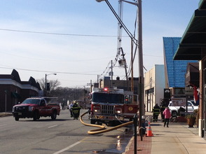 Q.J. Green Garden Restaurant Catches Fire in Millburn , photo 4