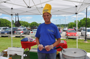 Nordic House owner Gary Martinsen serves up Swedish fare.