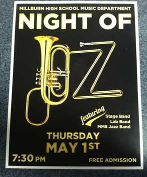 Night of Jazz Flyer