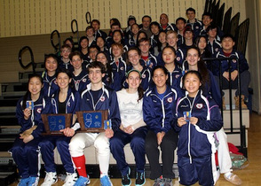 Gov. Livingston Fencers Ace District Tournament, photo 1