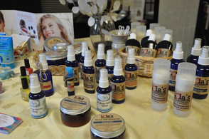 Lola's Natural Alternatives, a product line created by Newton Aromatherapist, Stephanie Ghostkeeper.