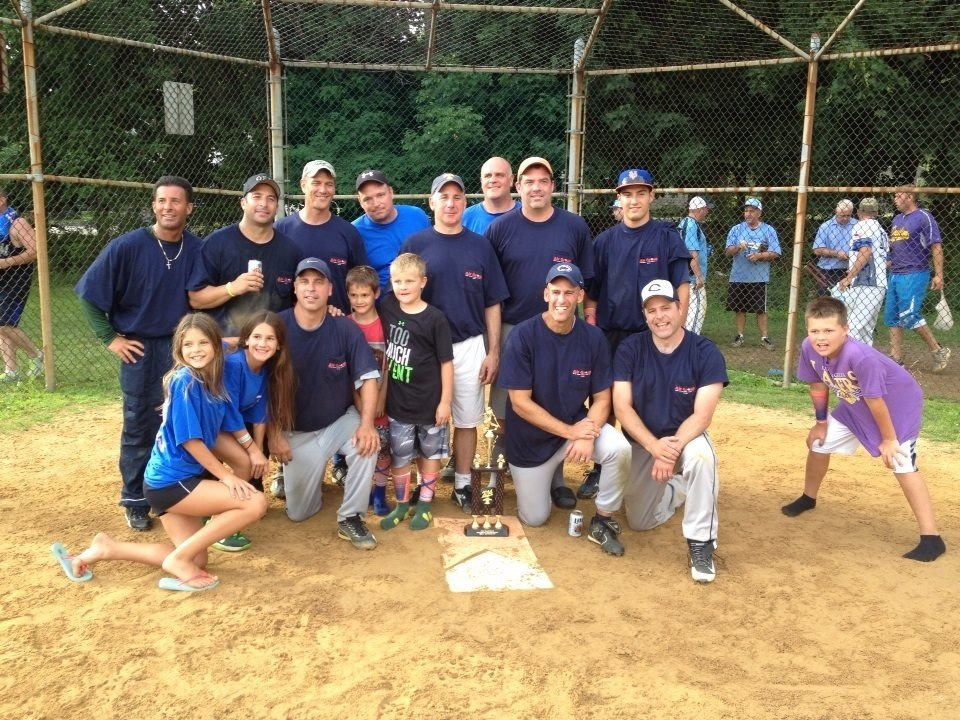 The Air Group Was The Runner Up In The First Annual Joe Valentine Memorial  Softball Tournament. Credits: Provided By John Nittolo