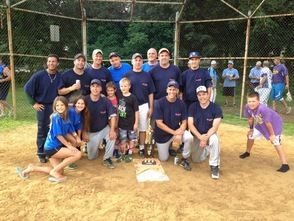 Runners Up in the First Annual Joe Valentine Memorial Softball Tournament
