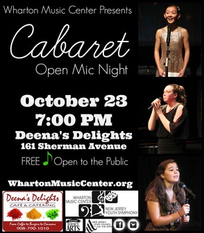 The Wharton Music Center Performs a Cabaret Night at Deena's Delights