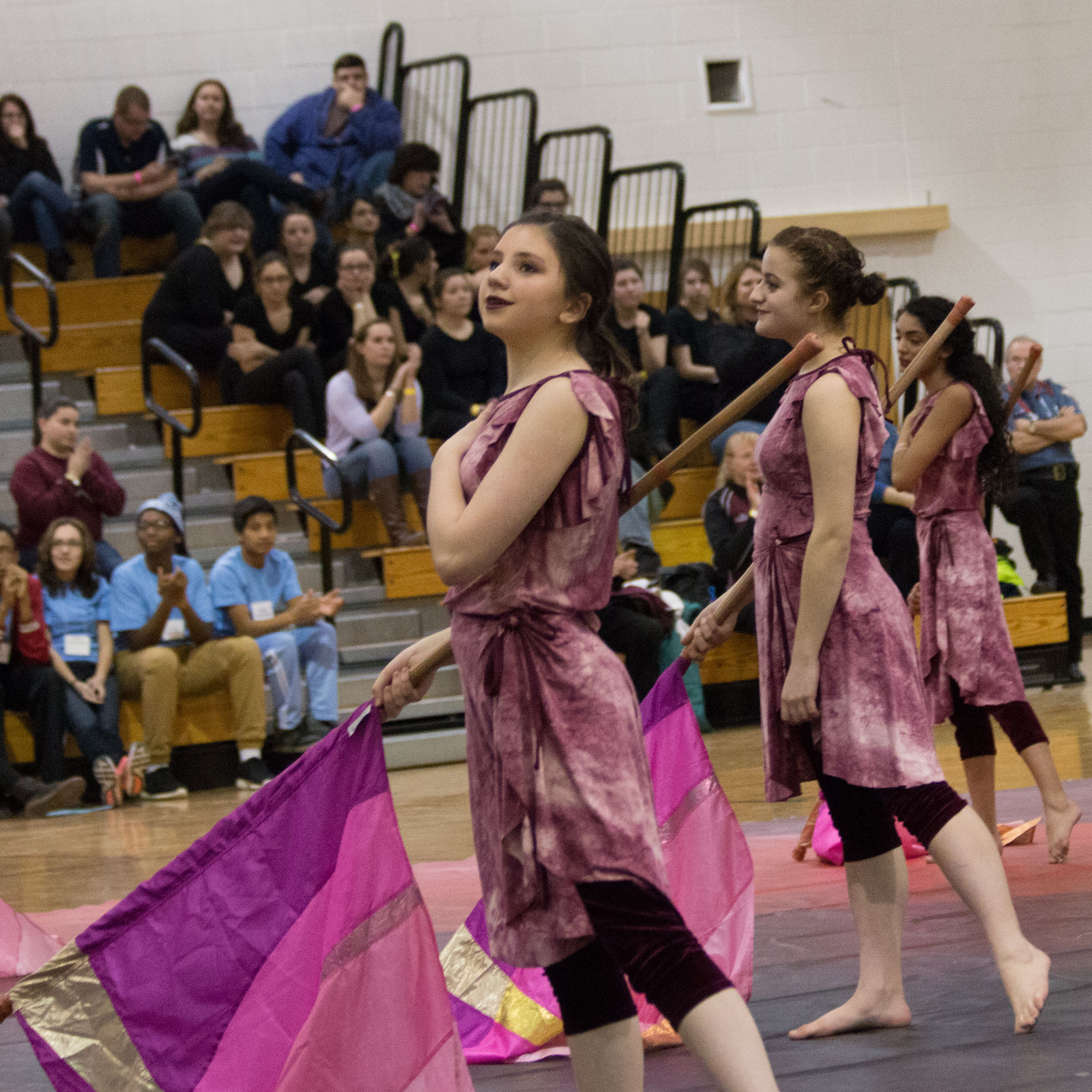 Articles about color guard - New Jersey Students Wow At West Orange High School Color Guard Competition News Tapinto