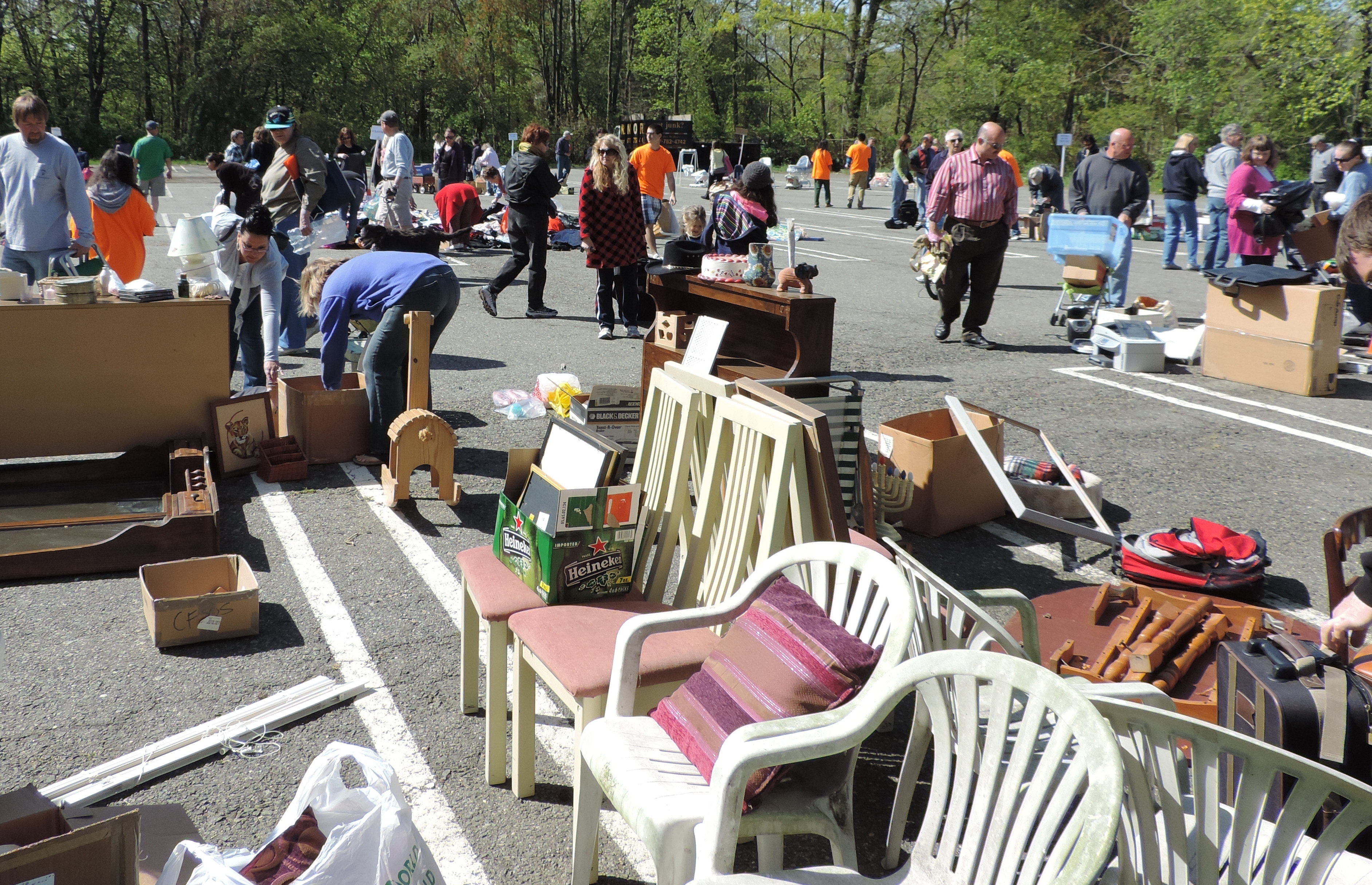 Trade Castoffs for 'Finds' at Freecycling Day, Oct. 25