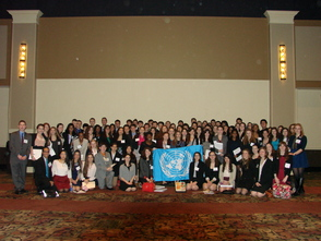 Scotch Plains-Fanwood Awarded Outstanding Delegation at Model U.N. Conference, photo 1
