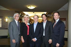 Livingston's Town Council Members Greet Senator Cory Booker