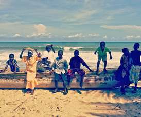Boats in Ghana