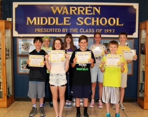 Warren Middle School Names Students Of The Month, photo 1