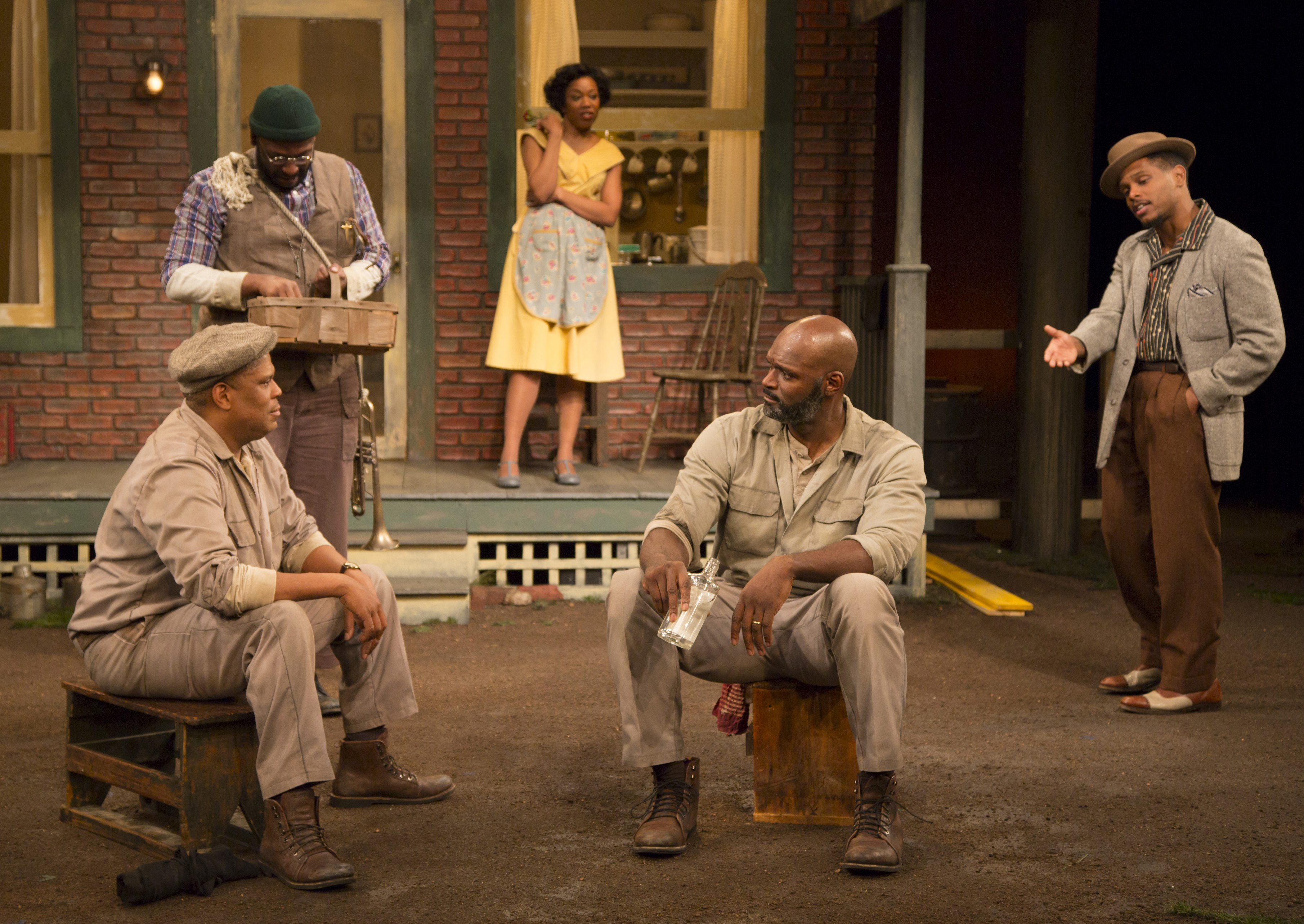 "August Wilson's ""Fences""–Intense Family Drama at Open Stage"