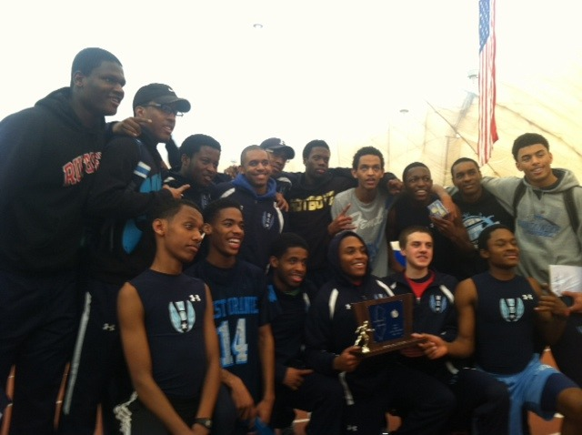 West Orange Boys Indoor Track Team Wins NJSIAA North Jersey Section 1, Group 4 Sectionals
