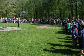 Opening Ceremony at Spring Camporee 2014