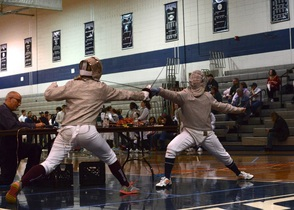 Randolph Achieves Success in Annual County Fencing Tournament, photo 4