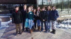 GCMS 4-H Rutgers Global Climate & Environmental Change Teen Summit Team