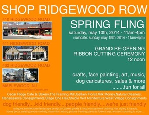 "Maplewood's ""Ridgewood Row"" Shops Invite You to Spring Fling Saturday, photo 1"