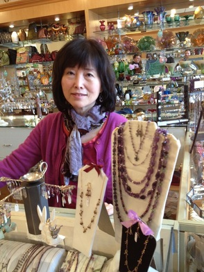 Helen Ling, owner of Enchantments