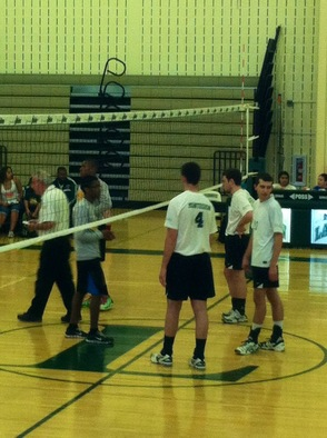 Livingston Boys Varsity Volleyball Dominates Roselle Catholic and Advances to Quarterfinal Round of State Tournament