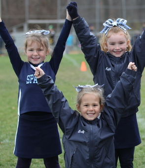 Flag Blue Cheerleaders