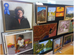 Four South Orange Senior Citizen Artists Honored, photo 1