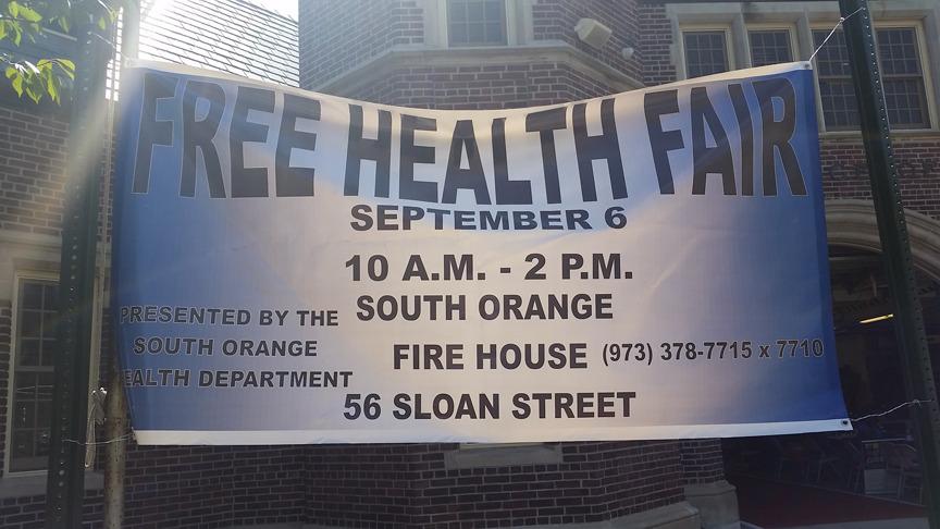 South Orange Health Fair Offers Testing, Information