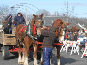 Hundreds Turn Out For Santa Visit and Horse-Drawn Wagon Rides, photo 21