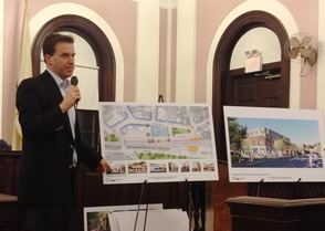 Maplewood Residents Express Concerns at Open Forum with Post Office Site Developers, photo 1