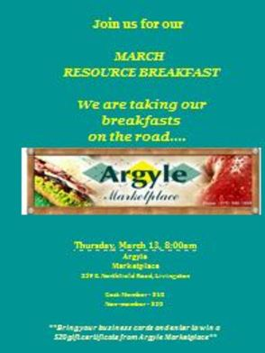 Public Invited to Livingston Area Chamber of Commerce 'Breakfast on the Road' Meeting at Argyle Marketplace, photo 1