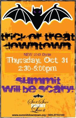 Summit Trick or Treat - New Day and Time, photo 1