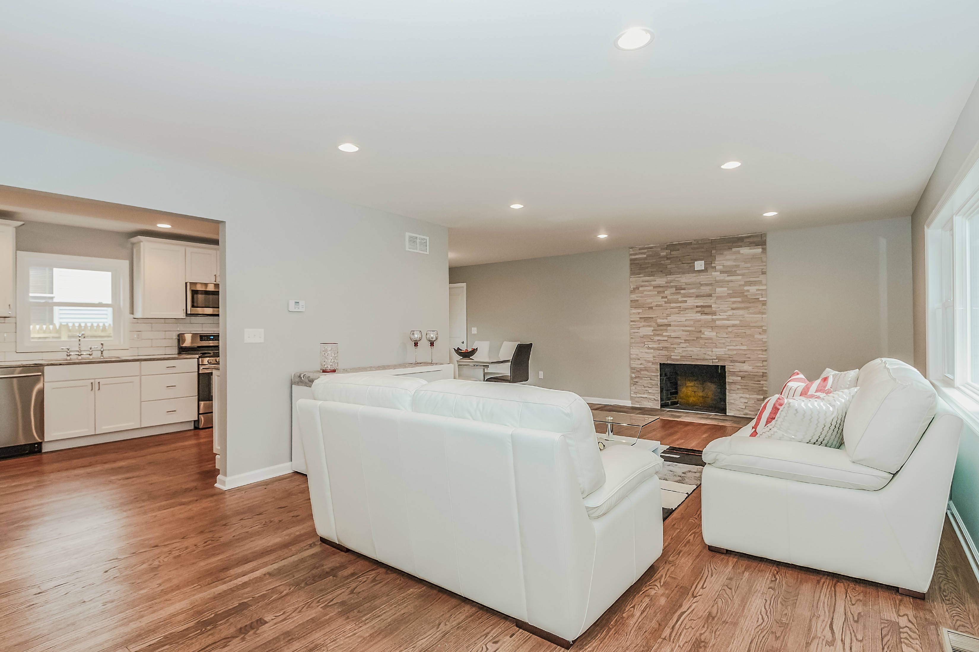 Completely renovated ranch tapinto for Completely open floor plans