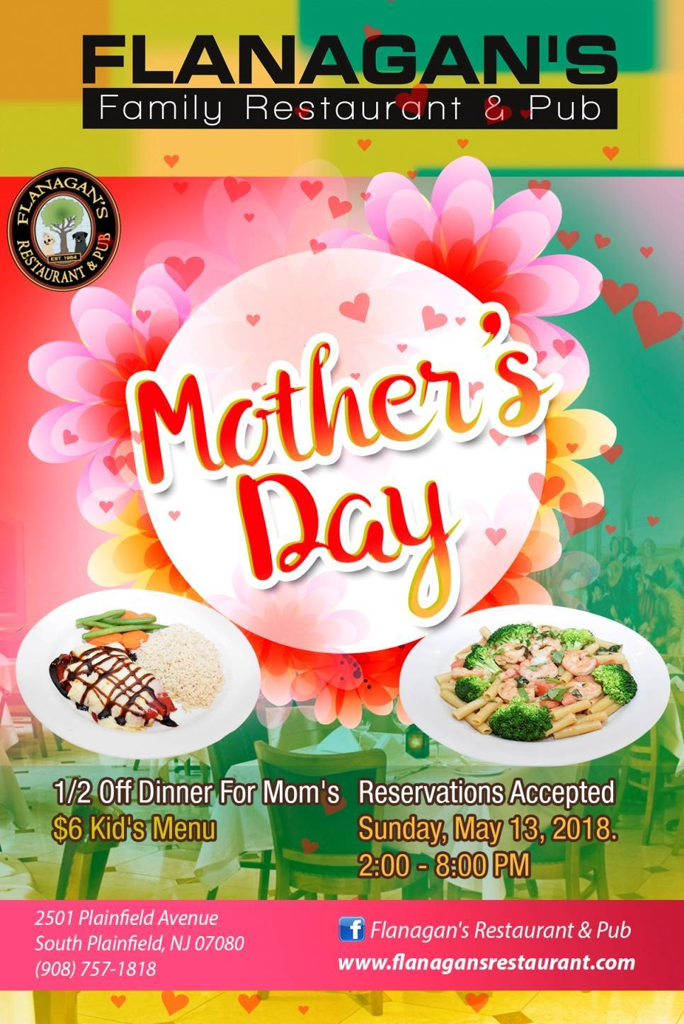 Mothers Day At Flanagans Restaurant Tapinto