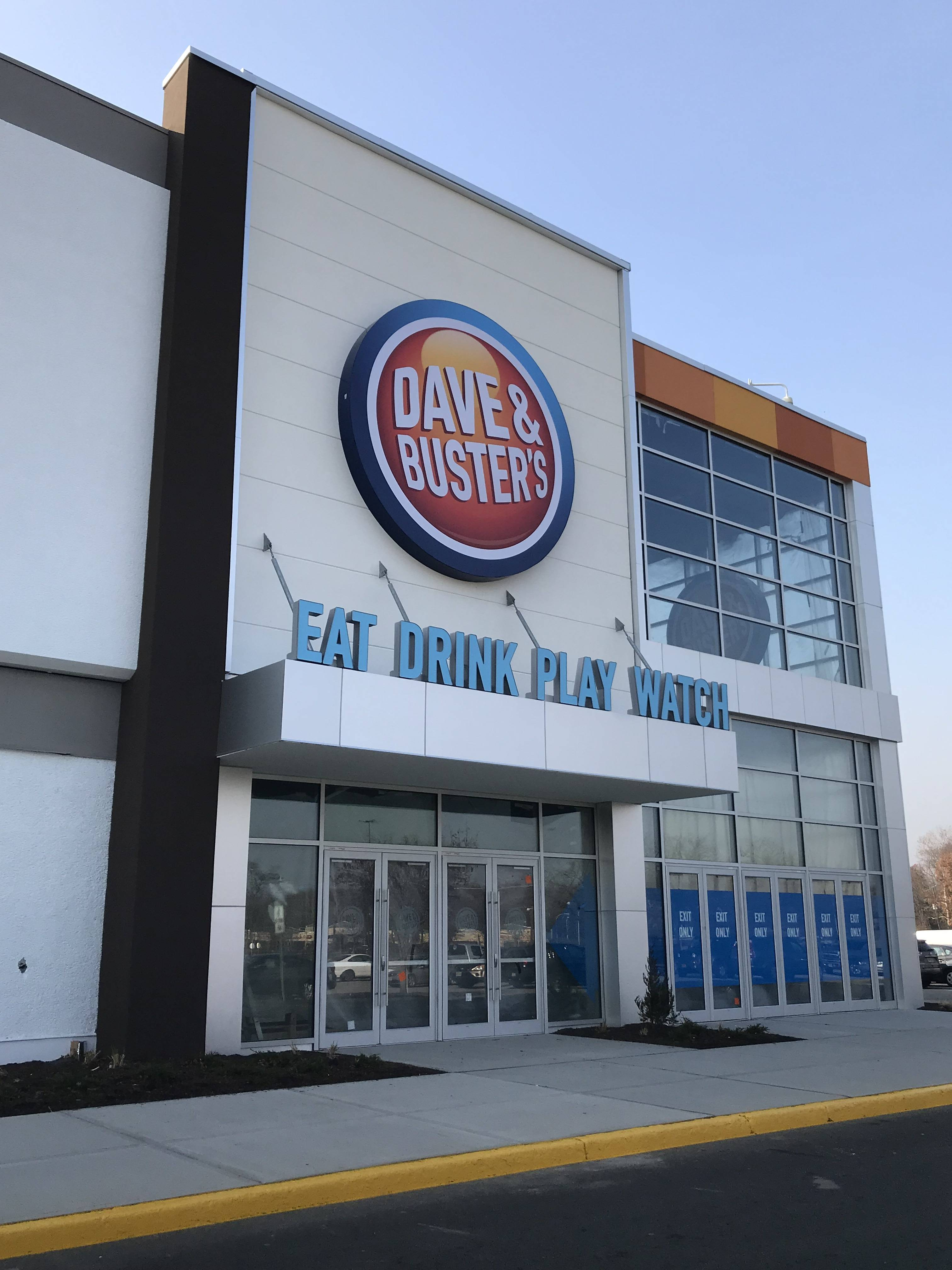 Dave Amp Busters In Willowbrook Mall Announces Opening Date