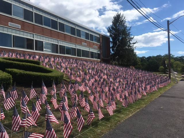 2nd Annual Cedar Grove Waves Installation Honors 9/11 Victims