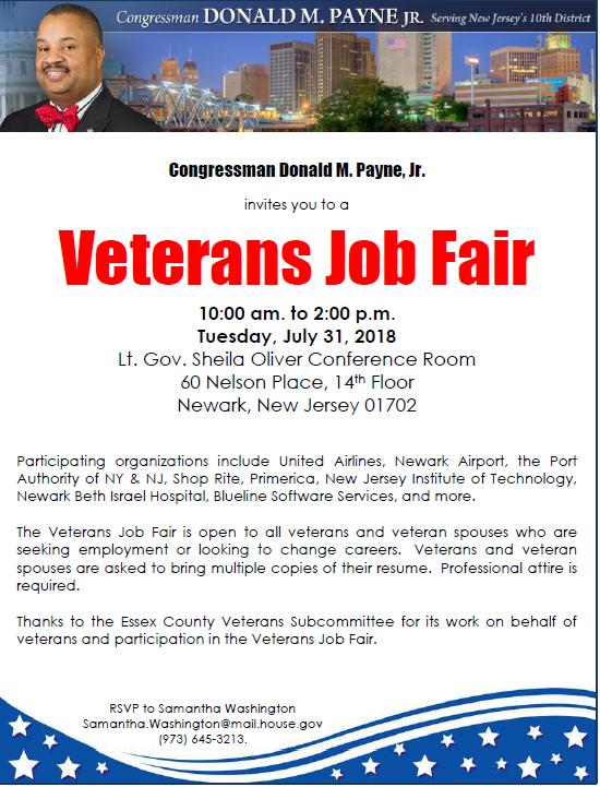 Veterans Job Fair - TAPinto