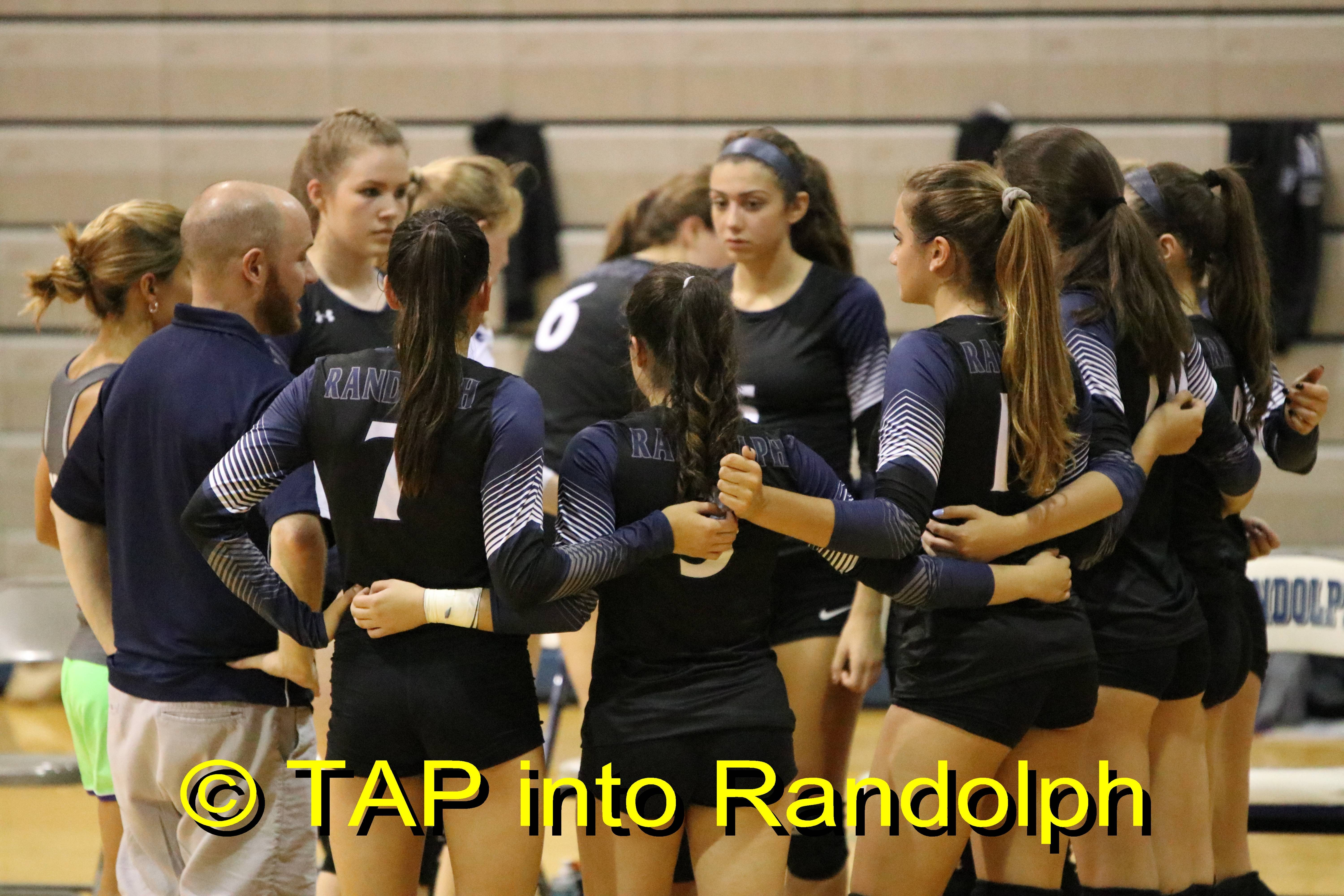 Randolph Volleyball Gets Back On Winning Track Defeating